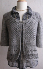 Crocheted Jacket, Irene & Mr.Sheep Co.