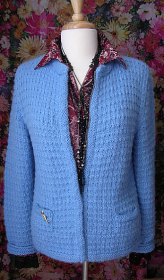ANDALUZIA STITCH JACKET, Irene & Mr.Sheep Co.