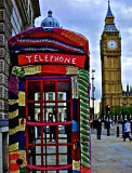 Knit Phone Box in London