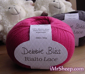Debbie Bliss RIALTO LACE [100% Merino Extra Fine Superwash]