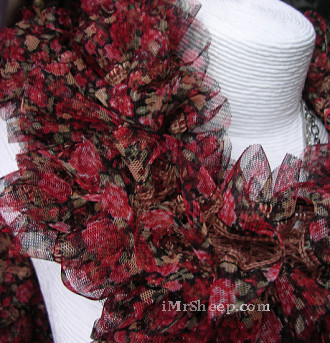 Diamond Luxury Collection FOLIE [60% Acrylic, 40& Polyester Fabric], Scarf Yarn