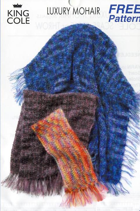 Алло, Мам!, смотреть онлайн - Шарф из ленточной пряжи вязание спицами.