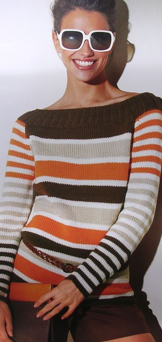 Asia Sweater, LANA GROSSA Cotone No. 3