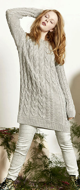 LONG PULLOVER, Lang Book 265