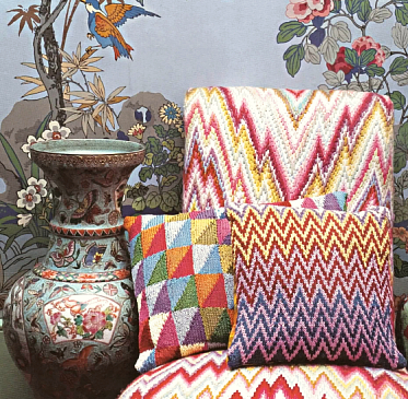 At Home With Kaffe Fassett, BURDA STYLE Knitting