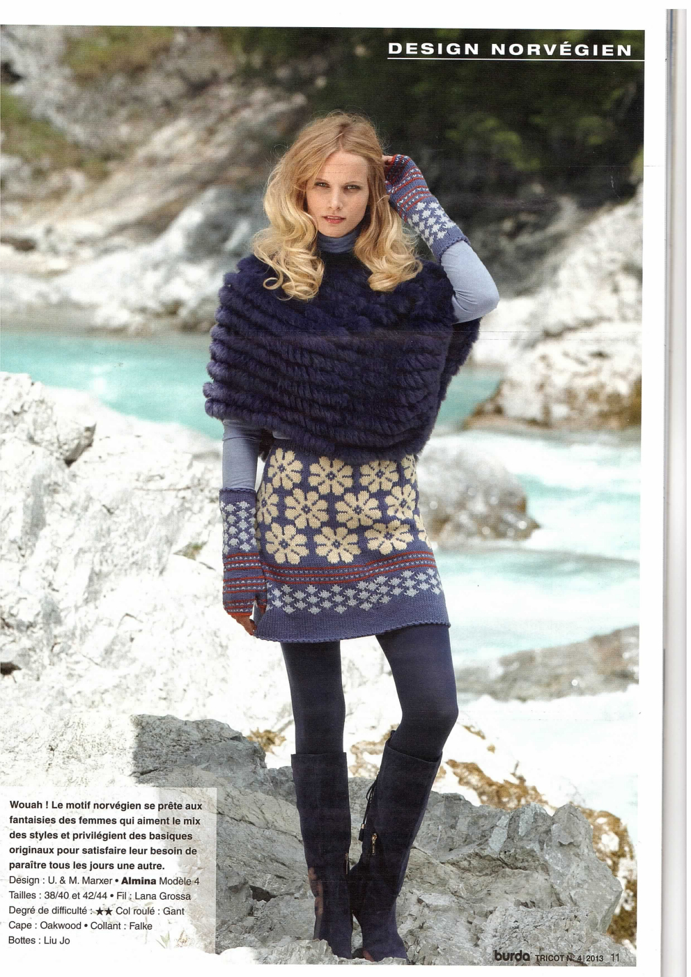 Burda tricot and sandra tricot knitting magazine haute couture burda tricot 4 hiver 2013 2014 66 designs bankloansurffo Images