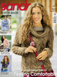 Sandra knitting magazine, January 2012