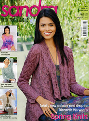 Sandra knitting magazine, February 2012