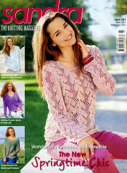 Sandra knitting magazine, March 2012