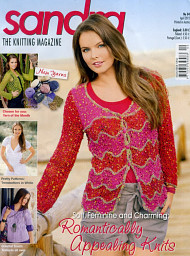 Sandra knitting magazine, April 2012