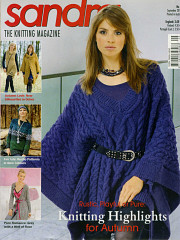 Sandra knitting magazine, September 2011
