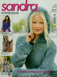 Sandra knitting magazine, October 2011