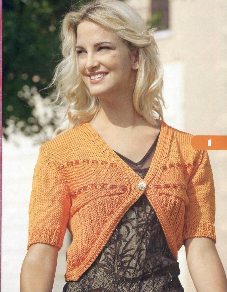 Фотография из рубрики Схемы для вязания , Вязание спицами маленьким