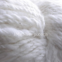 PURE ANGORA HANDSPUN [100% Pure Angora Rabbit Wool, Undyed], Natural Off White