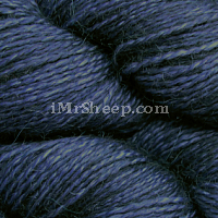Malabrigo BABY SILKPACA LACE[70% Baby Alpaca, 39% Silk], col 052 Paris Night