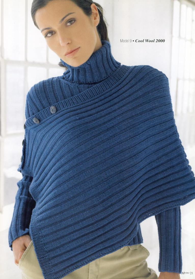 Вязаный Пуловер Резинкой С Доставкой