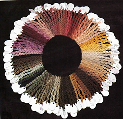 Mushroom Dyed Wool Samples, Arleen R. and Alan E. Bessette
