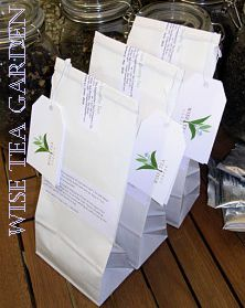 Wise Tea Garden Loose Tea Packs